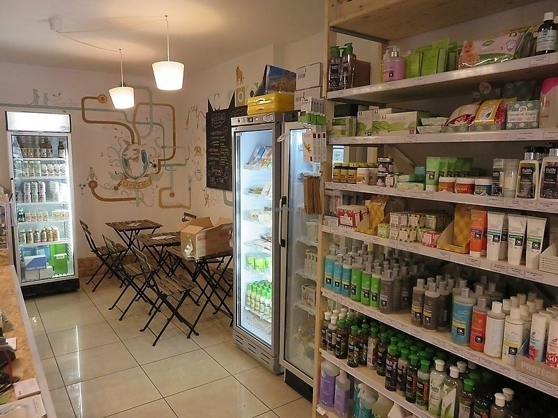 """Photo of Goveg Vegan Shop  by <a href=""""/members/profile/TrudiBruges"""">TrudiBruges</a> <br/>GoVeg, Liège <br/> November 19, 2017  - <a href='/contact/abuse/image/57148/326982'>Report</a>"""
