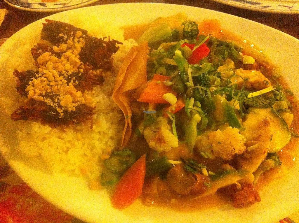 "Photo of Chay Viet  by <a href=""/members/profile/Sternanis"">Sternanis</a> <br/>Veg & rice with tofu and wan tan. Was ok <br/> January 10, 2017  - <a href='/contact/abuse/image/57164/210507'>Report</a>"