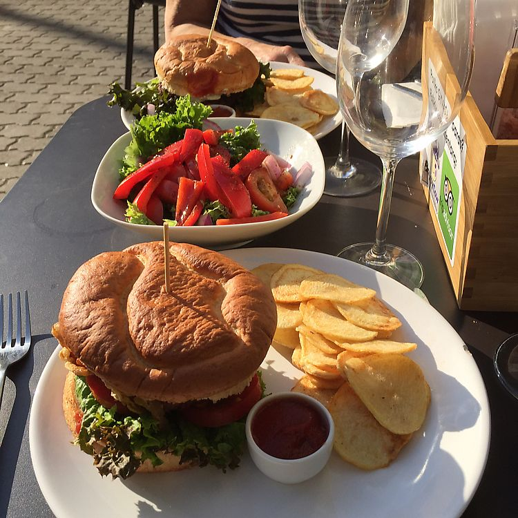 "Photo of GYVAS baras  by <a href=""/members/profile/ChrisRead"">ChrisRead</a> <br/>sweet potato burger & mushroom burger <br/> June 12, 2017  - <a href='/contact/abuse/image/57175/268301'>Report</a>"