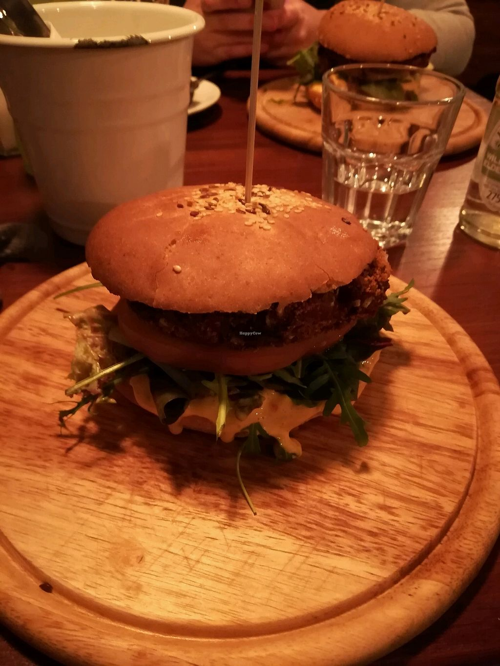"Photo of GYVAS baras  by <a href=""/members/profile/LucyKing"">LucyKing</a> <br/>Portobello burger <br/> January 15, 2018  - <a href='/contact/abuse/image/57175/346965'>Report</a>"