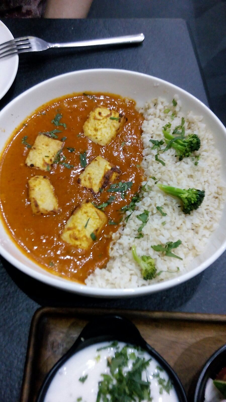 """Photo of Aja  by <a href=""""/members/profile/RC1"""">RC1</a> <br/>Tofu Tikka Masala <br/> April 8, 2018  - <a href='/contact/abuse/image/57200/382373'>Report</a>"""