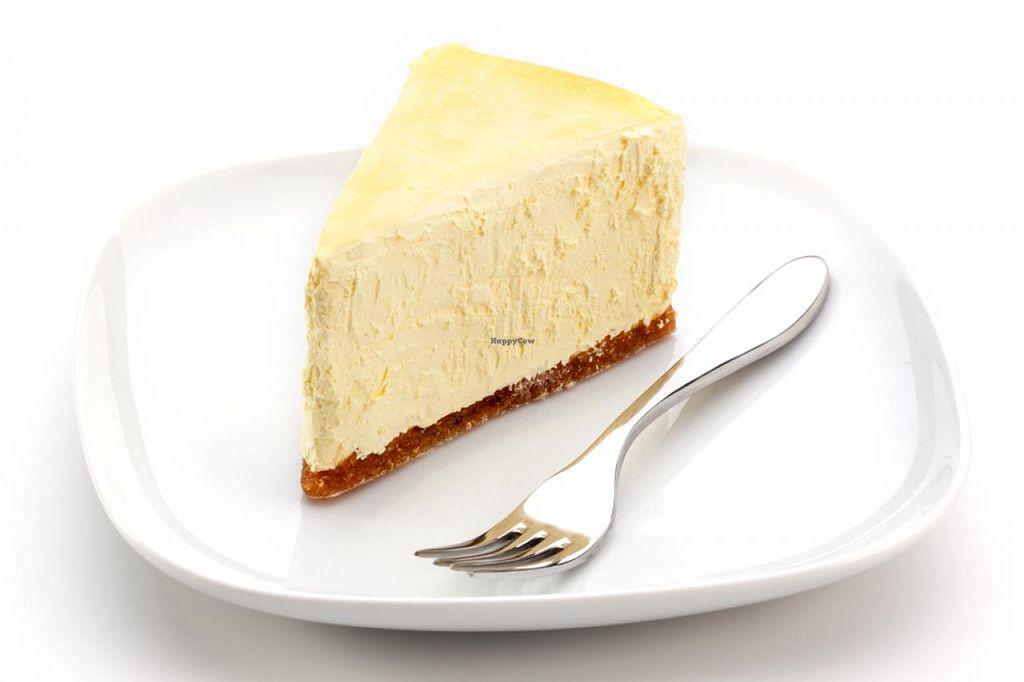 """Photo of Sirabella's Vegan Cheesecake  by <a href=""""/members/profile/sirabella"""">sirabella</a> <br/>Slice <br/> April 9, 2015  - <a href='/contact/abuse/image/57223/98450'>Report</a>"""