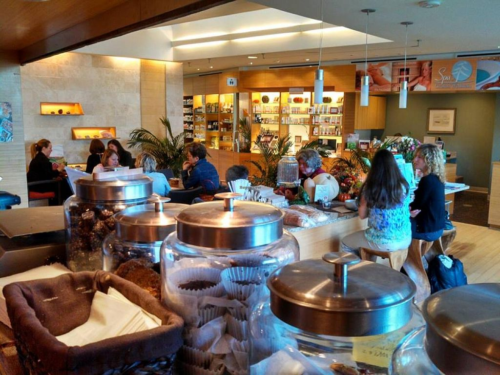 """Photo of Cafe at Groton Wellness  by <a href=""""/members/profile/ChristineH"""">ChristineH</a> <br/>Warm and relaxing place to eat.  <br/> April 8, 2015  - <a href='/contact/abuse/image/57246/98276'>Report</a>"""