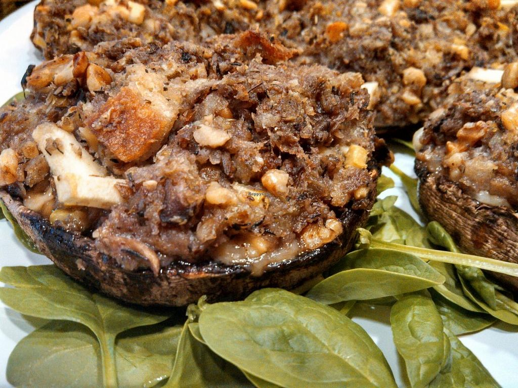 """Photo of Cafe at Groton Wellness  by <a href=""""/members/profile/ChristineH"""">ChristineH</a> <br/>Sourdough Stuffed Portabella Mushhrooms   View Menu: http://www.grotonwellness.com/farm-table-caf%C3%A9  <br/> April 8, 2015  - <a href='/contact/abuse/image/57246/98286'>Report</a>"""