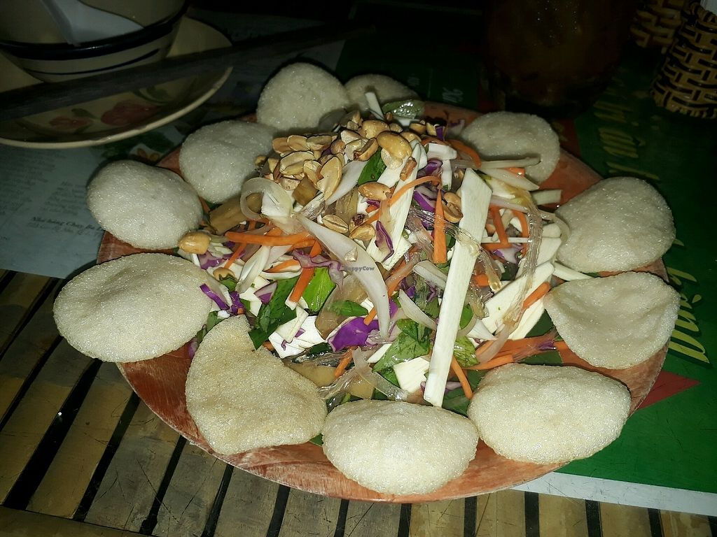 """Photo of 3 La Vegetarian  by <a href=""""/members/profile/LilacHippy"""">LilacHippy</a> <br/>Coconut shoot salad <br/> January 1, 2018  - <a href='/contact/abuse/image/57250/341653'>Report</a>"""