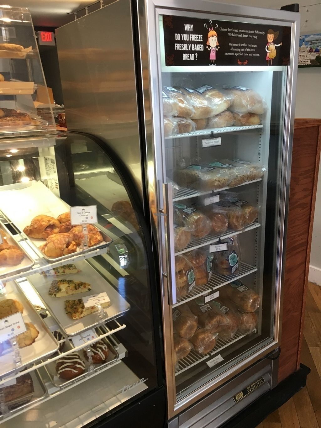 """Photo of Rise Bakery  by <a href=""""/members/profile/cookiem"""">cookiem</a> <br/>Freezer and breakfast items <br/> August 16, 2016  - <a href='/contact/abuse/image/57276/169301'>Report</a>"""