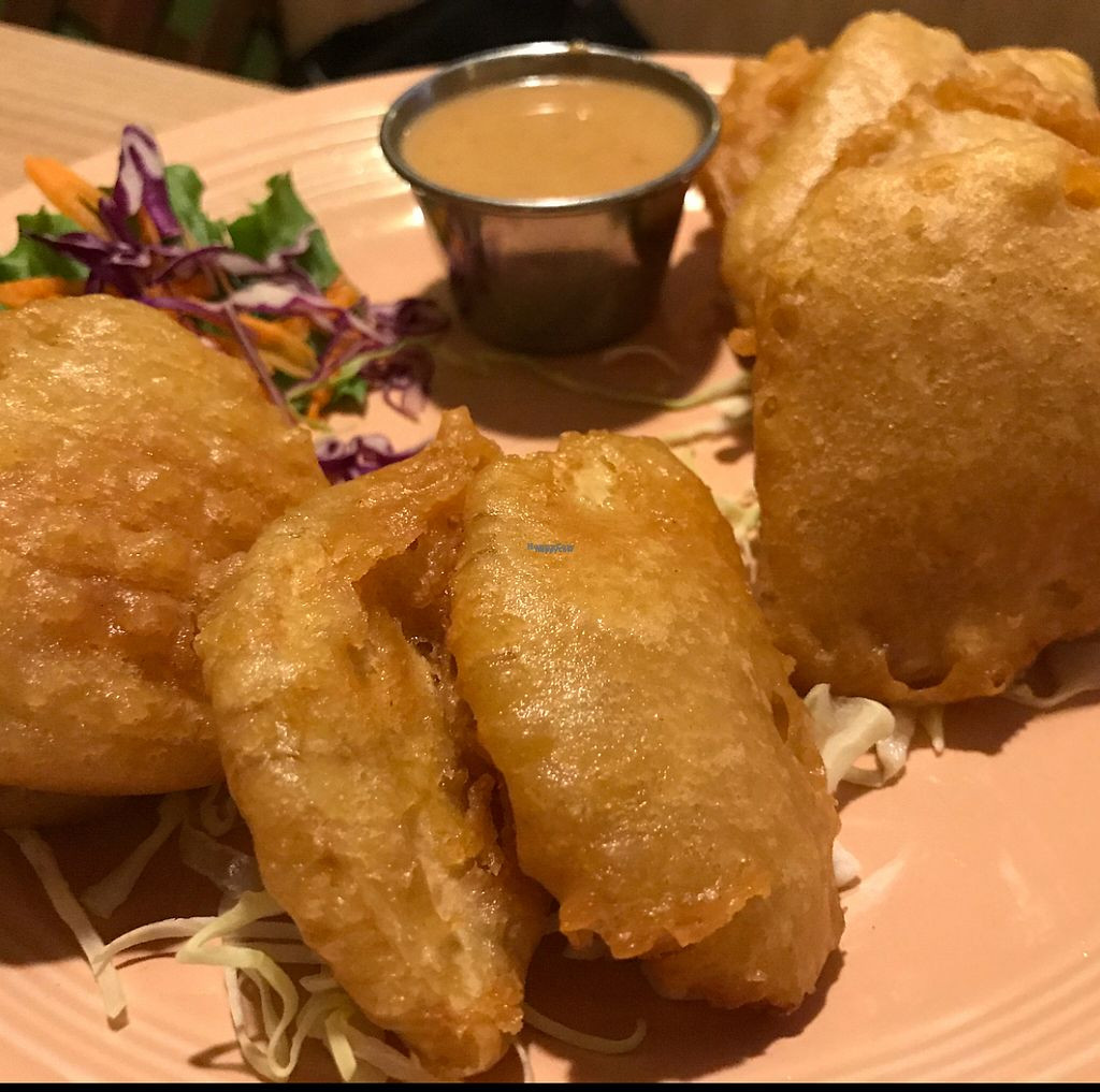 """Photo of Vegan House  by <a href=""""/members/profile/amberk13"""">amberk13</a> <br/>Sweet potato and taro appetizer <br/> February 19, 2017  - <a href='/contact/abuse/image/57294/228192'>Report</a>"""