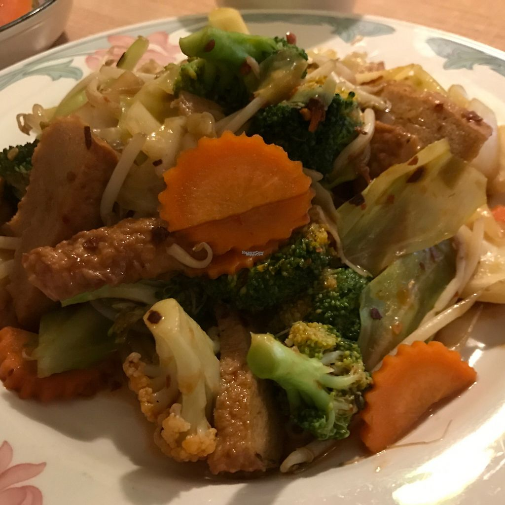 """Photo of Vegan House  by <a href=""""/members/profile/amberk13"""">amberk13</a> <br/>Buddha's Delight with mock chicken <br/> February 19, 2017  - <a href='/contact/abuse/image/57294/228193'>Report</a>"""