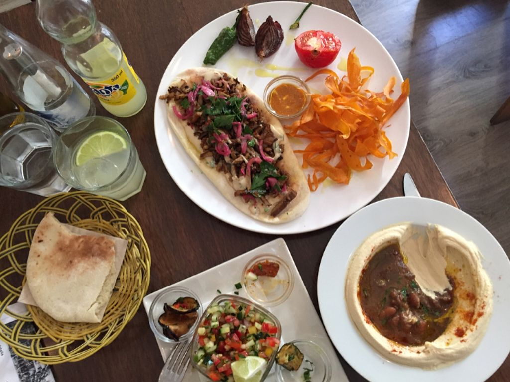"""Photo of Hummus Barcelona  by <a href=""""/members/profile/jag1996"""">jag1996</a> <br/>What a great meal! <br/> October 31, 2015  - <a href='/contact/abuse/image/57327/123345'>Report</a>"""