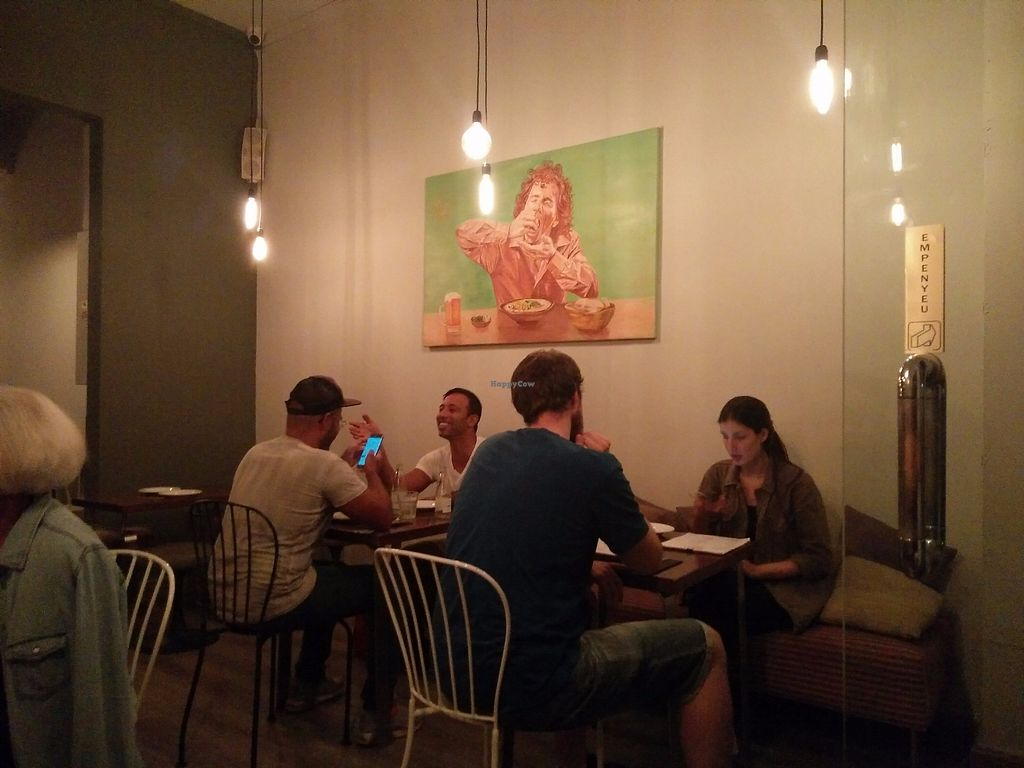 """Photo of Hummus Barcelona  by <a href=""""/members/profile/martinicontomate"""">martinicontomate</a> <br/>inside <br/> October 7, 2017  - <a href='/contact/abuse/image/57327/312917'>Report</a>"""