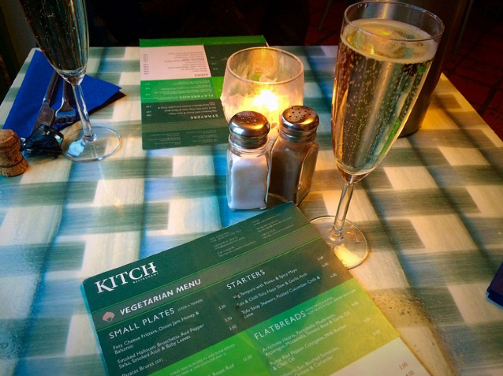 "Photo of Kitch Restaurant  by <a href=""/members/profile/CiaraSlevin"">CiaraSlevin</a> <br/>Dedicated Vegetarian Menu  <br/> March 21, 2016  - <a href='/contact/abuse/image/57340/140853'>Report</a>"