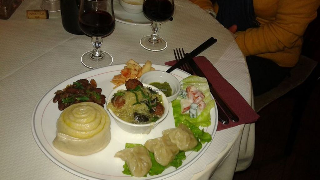 "Photo of Pema Thang  by <a href=""/members/profile/LiliBat"">LiliBat</a> <br/>Vegetarian meal with tibetan bread <br/> July 30, 2015  - <a href='/contact/abuse/image/57351/111577'>Report</a>"