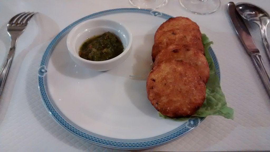 "Photo of Pema Thang  by <a href=""/members/profile/JonJon"">JonJon</a> <br/>Vegetable fritter with coriander sauce <br/> November 15, 2015  - <a href='/contact/abuse/image/57351/125027'>Report</a>"