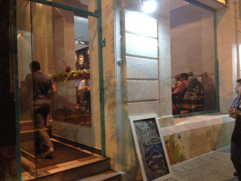"""Photo of VITA - Palermo  by <a href=""""/members/profile/AshleyLorden"""">AshleyLorden</a> <br/>entrance on plaza Armenia <br/> April 12, 2015  - <a href='/contact/abuse/image/57364/98802'>Report</a>"""