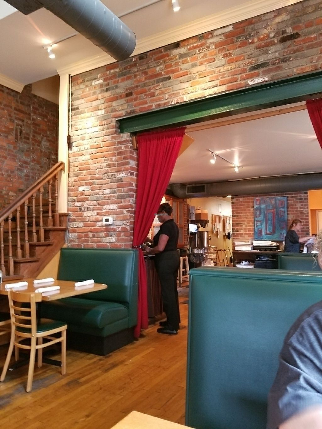 """Photo of North End Cafe  by <a href=""""/members/profile/jenicamb"""">jenicamb</a> <br/>Very cute seating area <br/> May 29, 2017  - <a href='/contact/abuse/image/5736/263932'>Report</a>"""