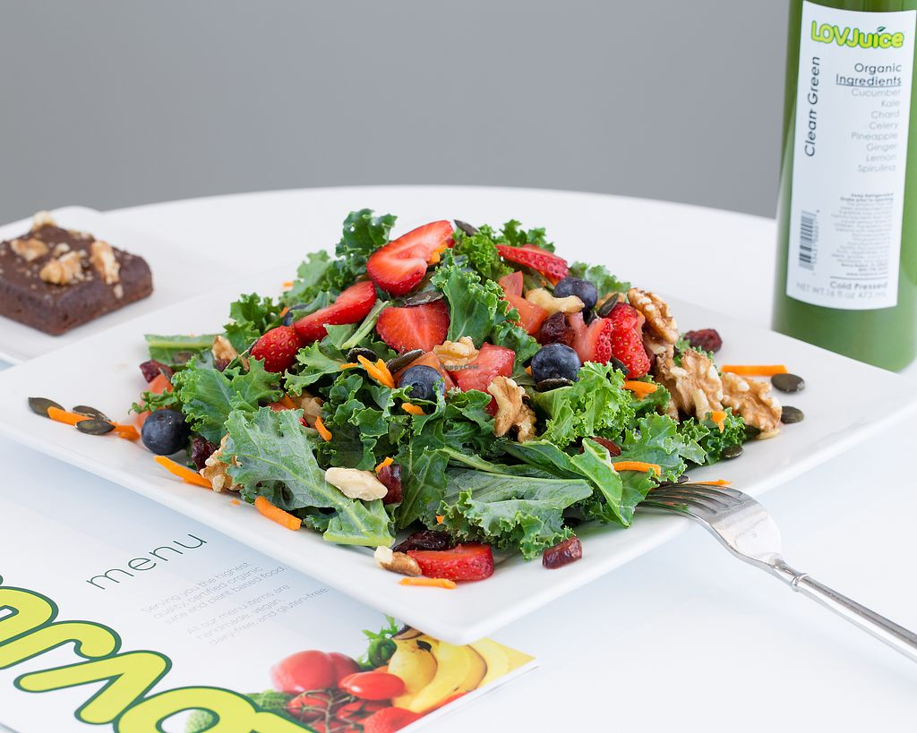 """Photo of LOVJuice  by <a href=""""/members/profile/LOVJuice"""">LOVJuice</a> <br/>Kale Super Food Salad <br/> January 20, 2018  - <a href='/contact/abuse/image/57371/348989'>Report</a>"""