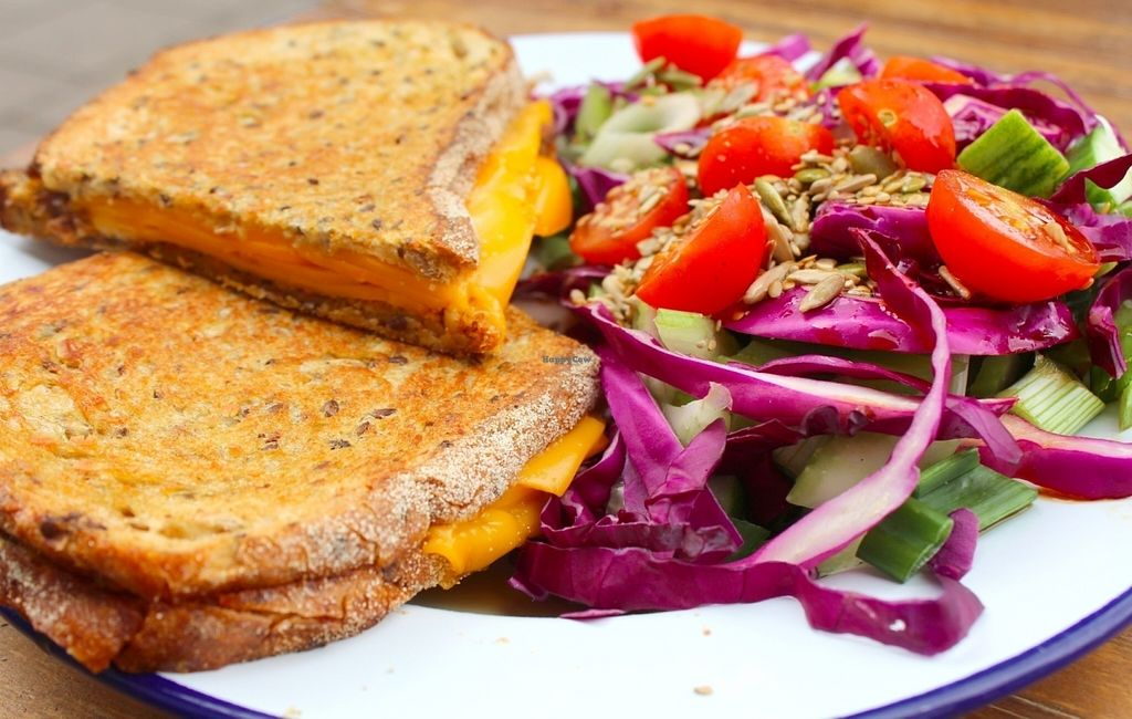 """Photo of Trew Era Cafe  by <a href=""""/members/profile/kezia"""">kezia</a> <br/>Best Vegan Toasties In London - FACT  <br/> July 30, 2016  - <a href='/contact/abuse/image/57393/163426'>Report</a>"""
