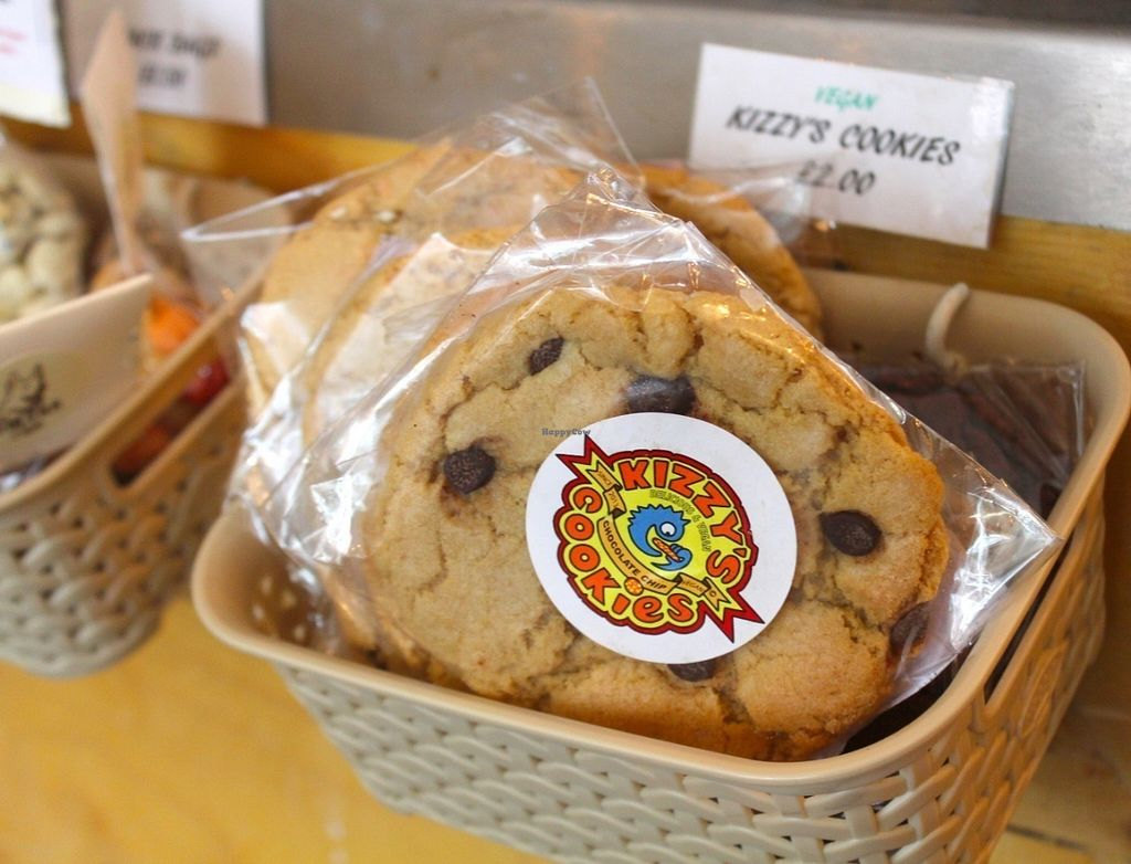 """Photo of Trew Era Cafe  by <a href=""""/members/profile/kezia"""">kezia</a> <br/>Kizzy's Vegan Cookies <br/> July 30, 2016  - <a href='/contact/abuse/image/57393/163427'>Report</a>"""