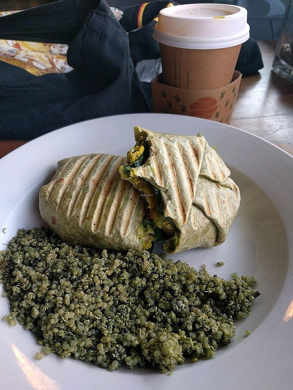 """Photo of The Hive  by <a href=""""/members/profile/MatthewVBogusz"""">MatthewVBogusz</a> <br/>right start breakfast burrito <br/> March 18, 2018  - <a href='/contact/abuse/image/57409/372576'>Report</a>"""