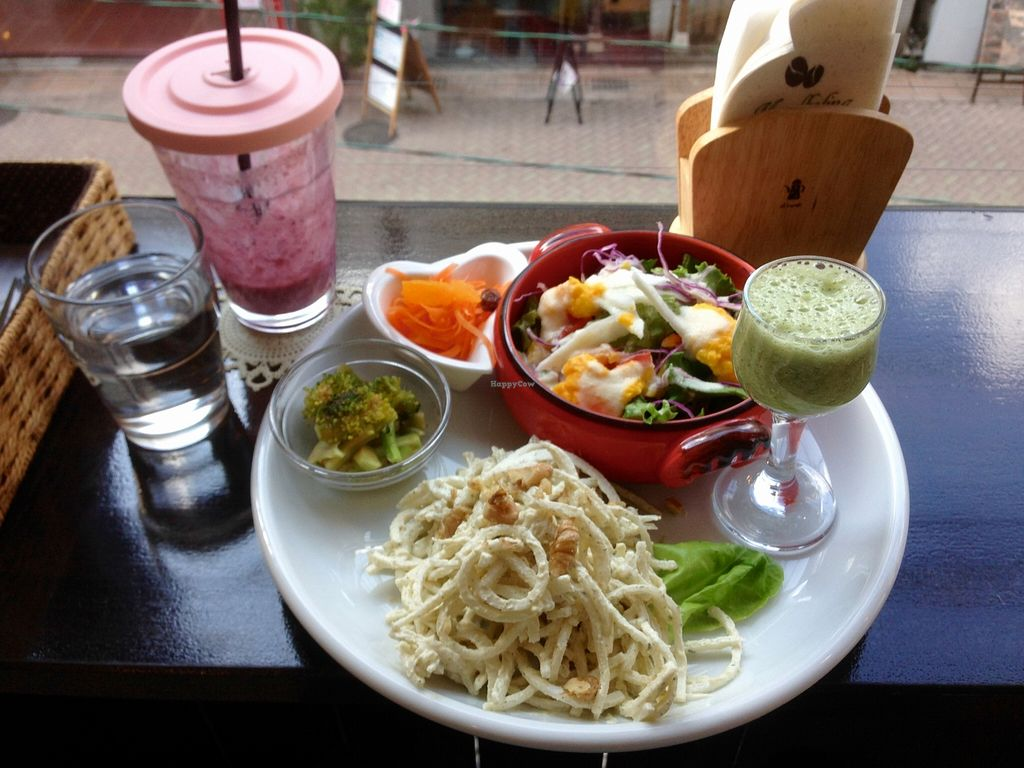 """Photo of CLOSED: Maria Cafe  by <a href=""""/members/profile/NicoNico"""">NicoNico</a> <br/>Healthy , tasty and refreshing! <br/> November 16, 2015  - <a href='/contact/abuse/image/57436/125141'>Report</a>"""
