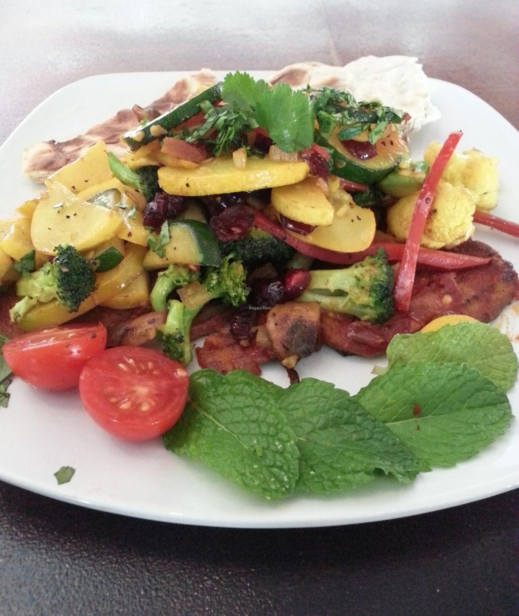"""Photo of CLOSED: Nush  by <a href=""""/members/profile/ErickCedeno"""">ErickCedeno</a> <br/>Eggplant with Roasted Vegetables <br/> April 14, 2015  - <a href='/contact/abuse/image/57462/99101'>Report</a>"""