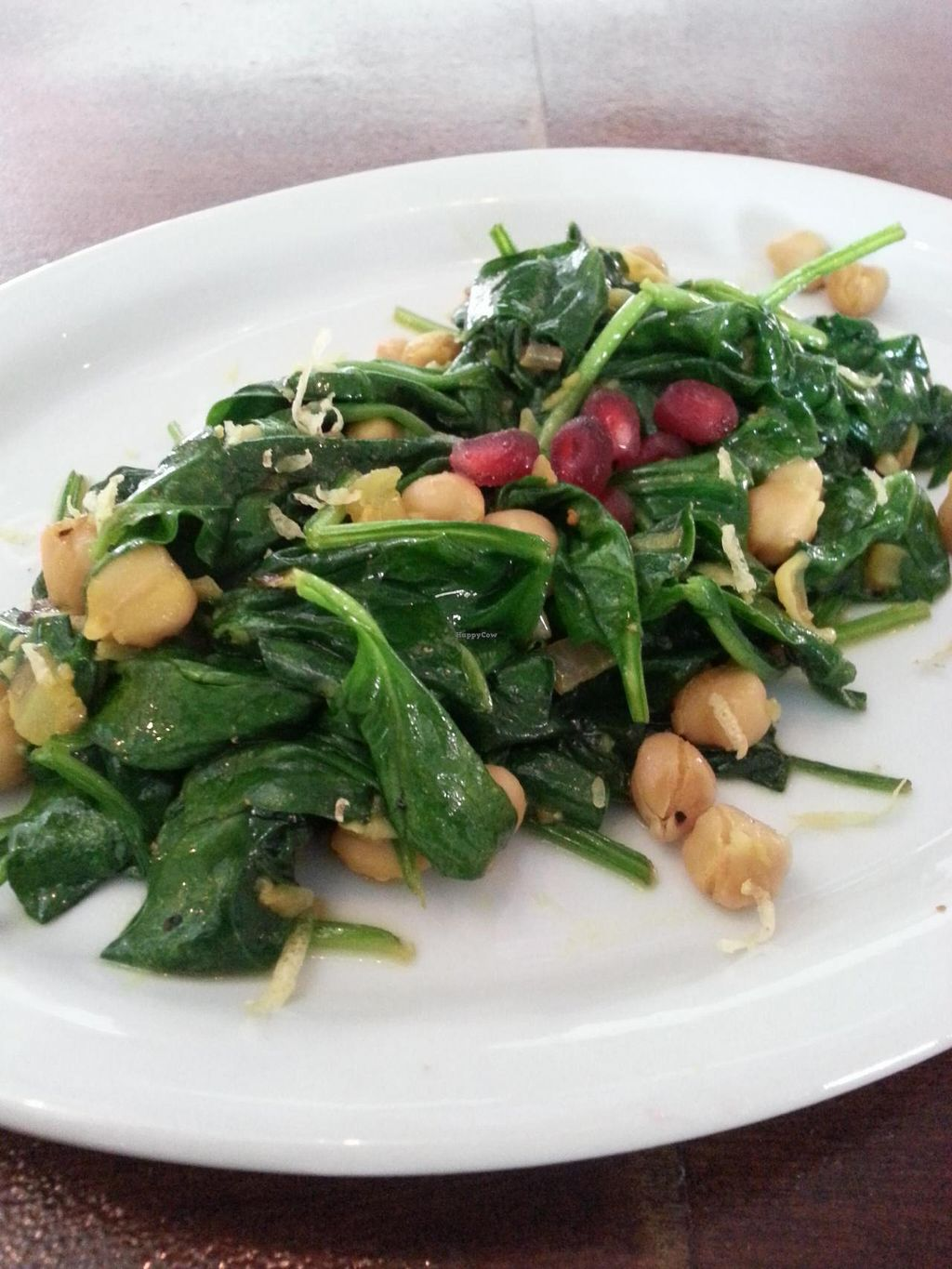 """Photo of CLOSED: Nush  by <a href=""""/members/profile/ErickCedeno"""">ErickCedeno</a> <br/>Sauteed Spinach with Chickpeas <br/> April 14, 2015  - <a href='/contact/abuse/image/57462/99102'>Report</a>"""