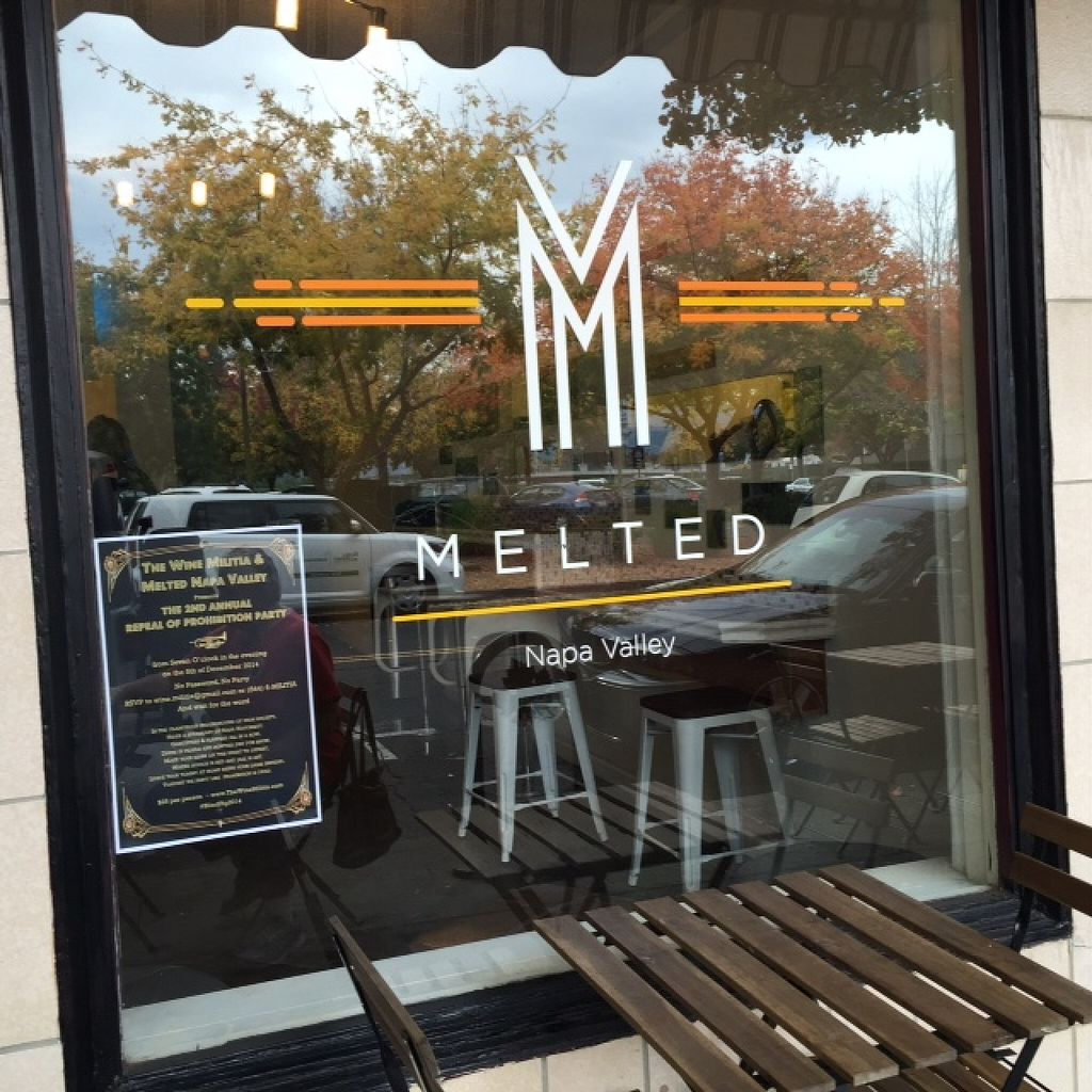 """Photo of Melted  by <a href=""""/members/profile/Napa%20Valley%20Vegan"""">Napa Valley Vegan</a> <br/>downtown Napa off Pearl Street <br/> March 1, 2016  - <a href='/contact/abuse/image/57470/138329'>Report</a>"""