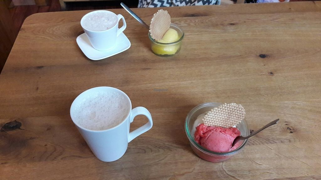 """Photo of Veis  by <a href=""""/members/profile/DeliaSpaima"""">DeliaSpaima</a> <br/>Ice cream and soy chai <br/> September 6, 2017  - <a href='/contact/abuse/image/57488/301509'>Report</a>"""