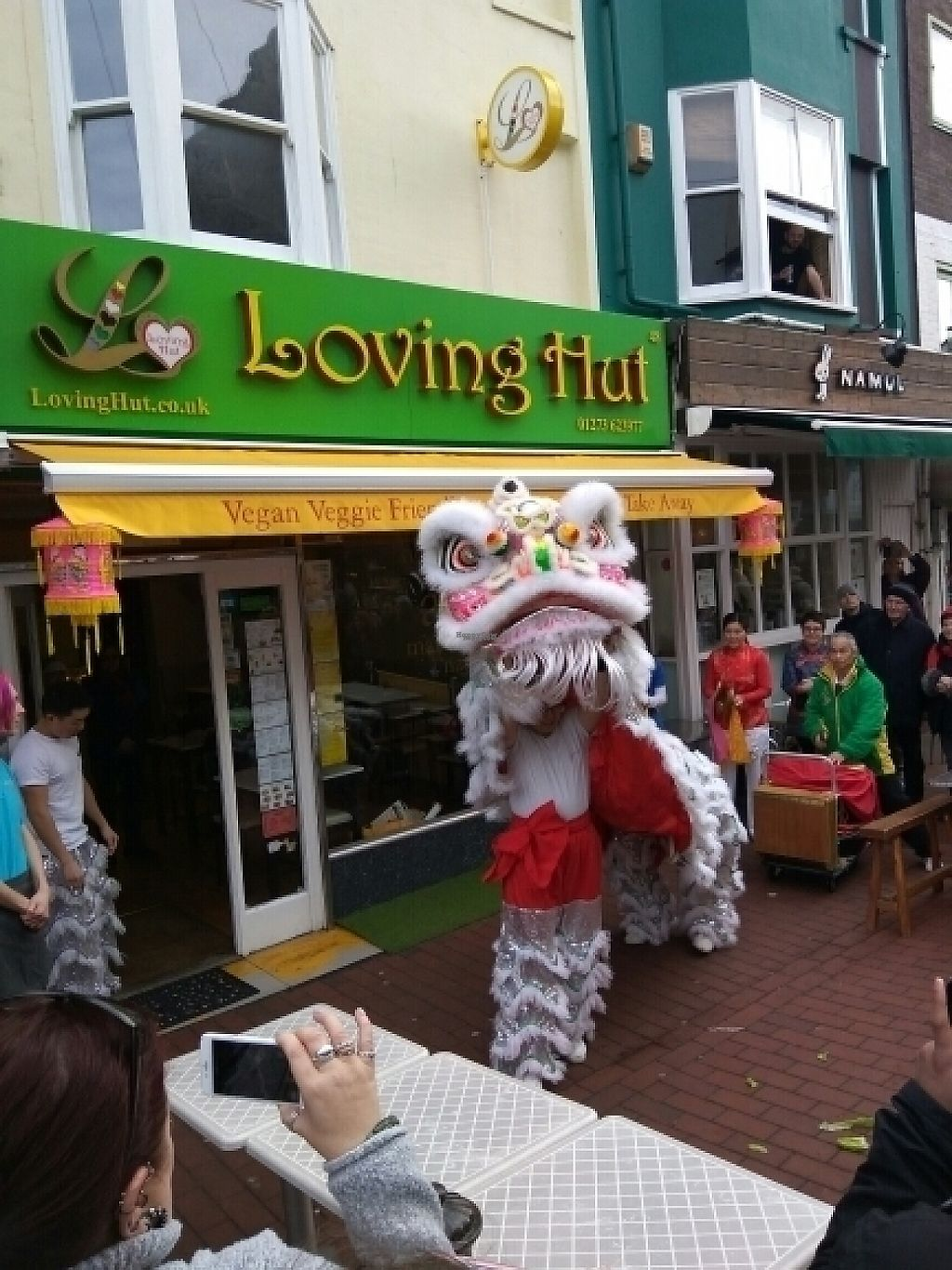 "Photo of Loving Hut - North Laine  by <a href=""/members/profile/Miggi"">Miggi</a> <br/>Celebrating Chinese New Year at Loving Hut <br/> January 28, 2017  - <a href='/contact/abuse/image/57500/218169'>Report</a>"