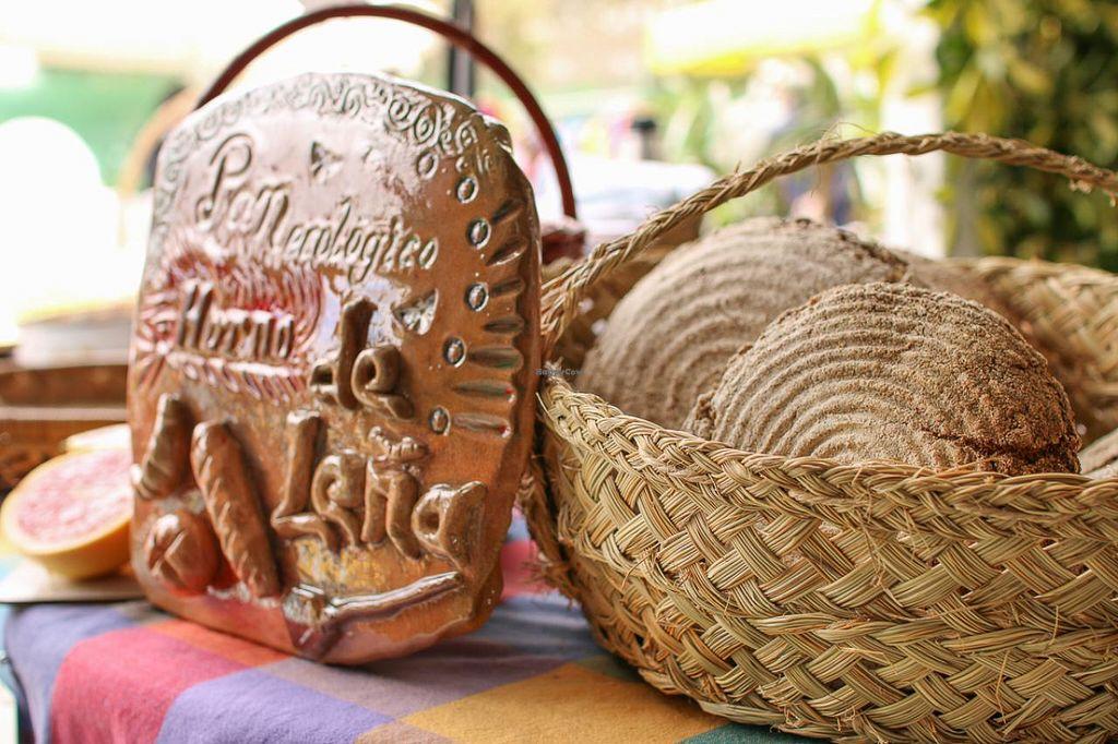 """Photo of Mercado Ecologico Viveros El Algarrobo  by <a href=""""/members/profile/Garden%20Centre%20Market"""">Garden Centre Market</a> <br/>Organic artesan woodoven bread and German seed crackerbread <br/> April 16, 2015  - <a href='/contact/abuse/image/57519/99287'>Report</a>"""