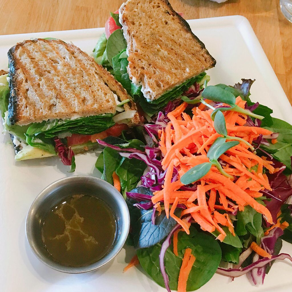 """Photo of Elements  by <a href=""""/members/profile/janbee"""">janbee</a> <br/>ALT sandwich w side salad  <br/> April 17, 2018  - <a href='/contact/abuse/image/57521/387397'>Report</a>"""