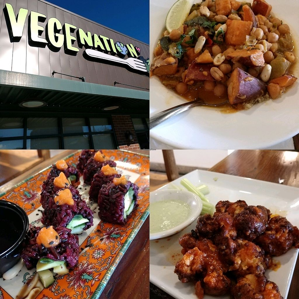 """Photo of VegeNation  by <a href=""""/members/profile/deepesh76"""">deepesh76</a> <br/>?, cauliflower wings, out of Africa dish <br/> January 12, 2018  - <a href='/contact/abuse/image/57542/345631'>Report</a>"""