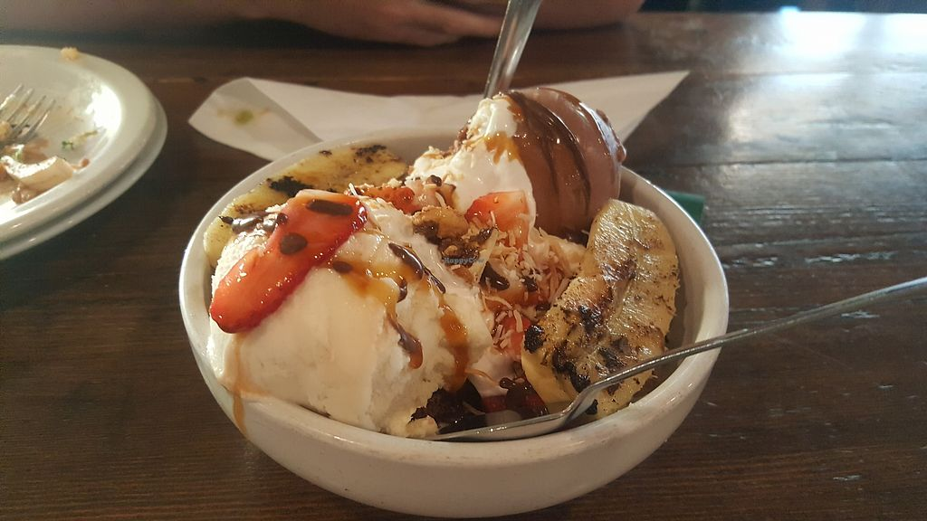 """Photo of VegeNation  by <a href=""""/members/profile/sarahssoares"""">sarahssoares</a> <br/>brownie sundae <br/> March 27, 2018  - <a href='/contact/abuse/image/57542/376814'>Report</a>"""