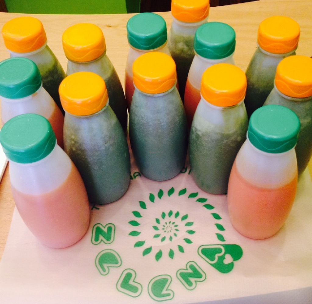 """Photo of Zelena  by <a href=""""/members/profile/ZelenaPula"""">ZelenaPula</a> <br/>Fresh juices made from eco fruit and vegetables :-) <br/> August 5, 2015  - <a href='/contact/abuse/image/57547/112374'>Report</a>"""