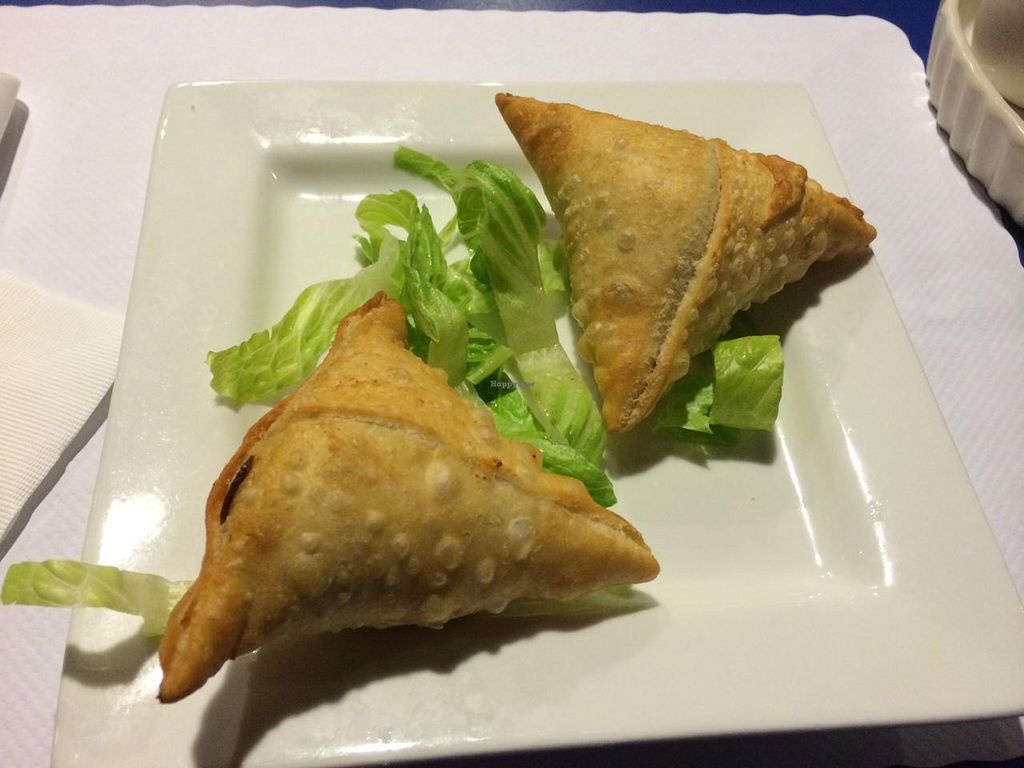 Photo of Kamana Kitchen  by krazykat <br/>Veggie Samosa <br/> April 23, 2015  - <a href='/contact/abuse/image/57554/100068'>Report</a>