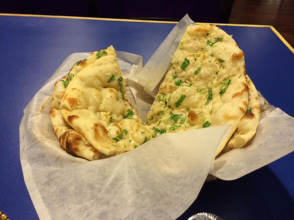 Photo of Kamana Kitchen  by krazykat <br/>Garlic Naan <br/> April 23, 2015  - <a href='/contact/abuse/image/57554/100069'>Report</a>