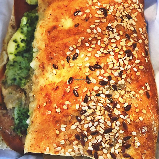 """Photo of iPhame  by <a href=""""/members/profile/geminibec17"""">geminibec17</a> <br/>The best vegan sandwich ever <br/> June 22, 2017  - <a href='/contact/abuse/image/57560/272307'>Report</a>"""