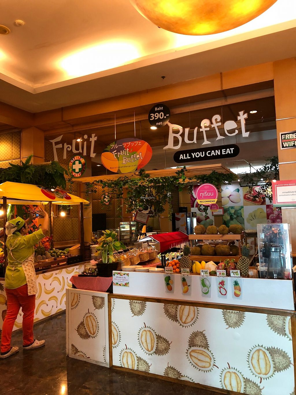 "Photo of Baiyoke Sky Hotel Fruit Buffet  by <a href=""/members/profile/JanaFisher"">JanaFisher</a> <br/>Fruit buffet <br/> January 4, 2018  - <a href='/contact/abuse/image/57563/342810'>Report</a>"