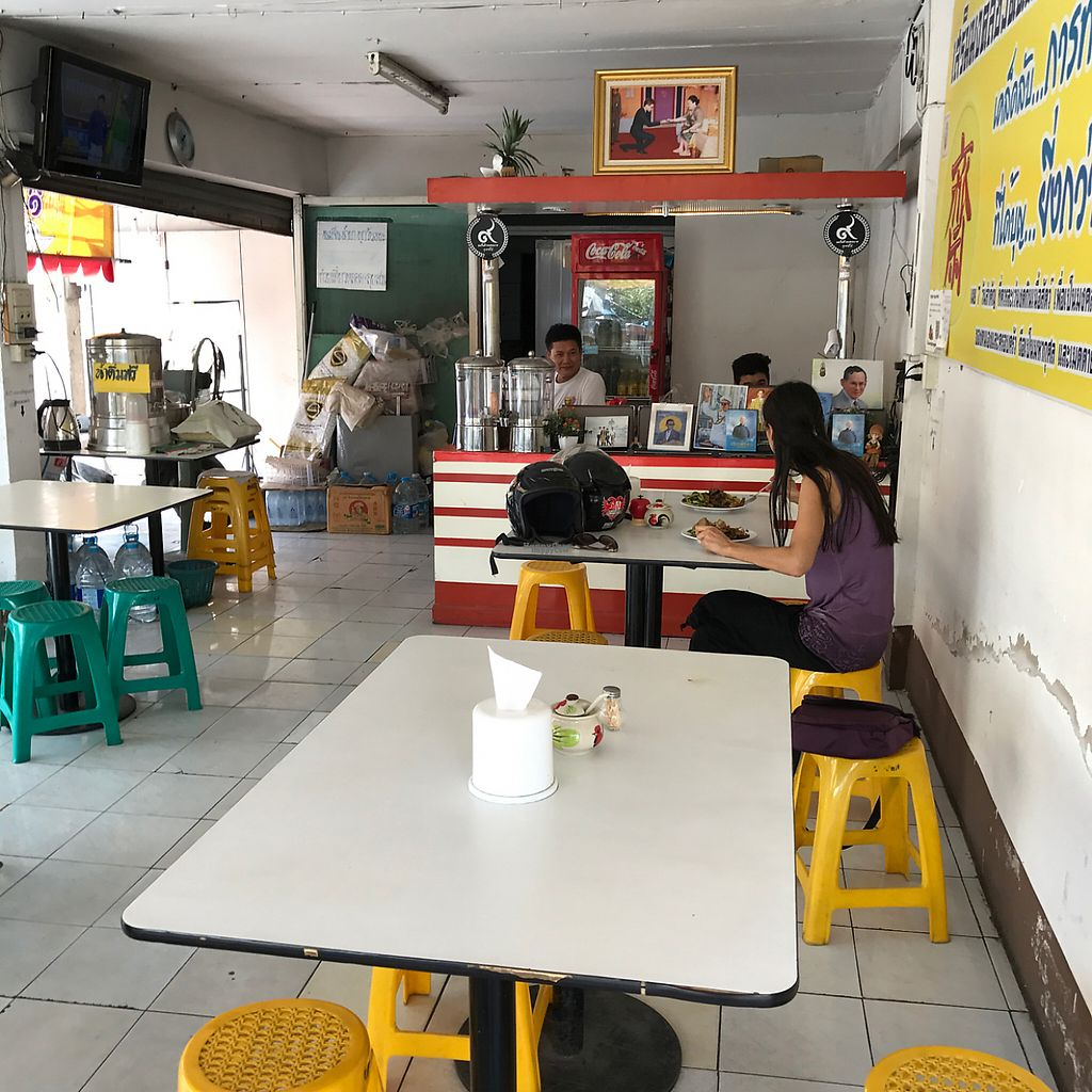 """Photo of CLOSED: Night Market Vegetarian  by <a href=""""/members/profile/earthville"""">earthville</a> <br/>dining room <br/> December 11, 2016  - <a href='/contact/abuse/image/57575/199298'>Report</a>"""