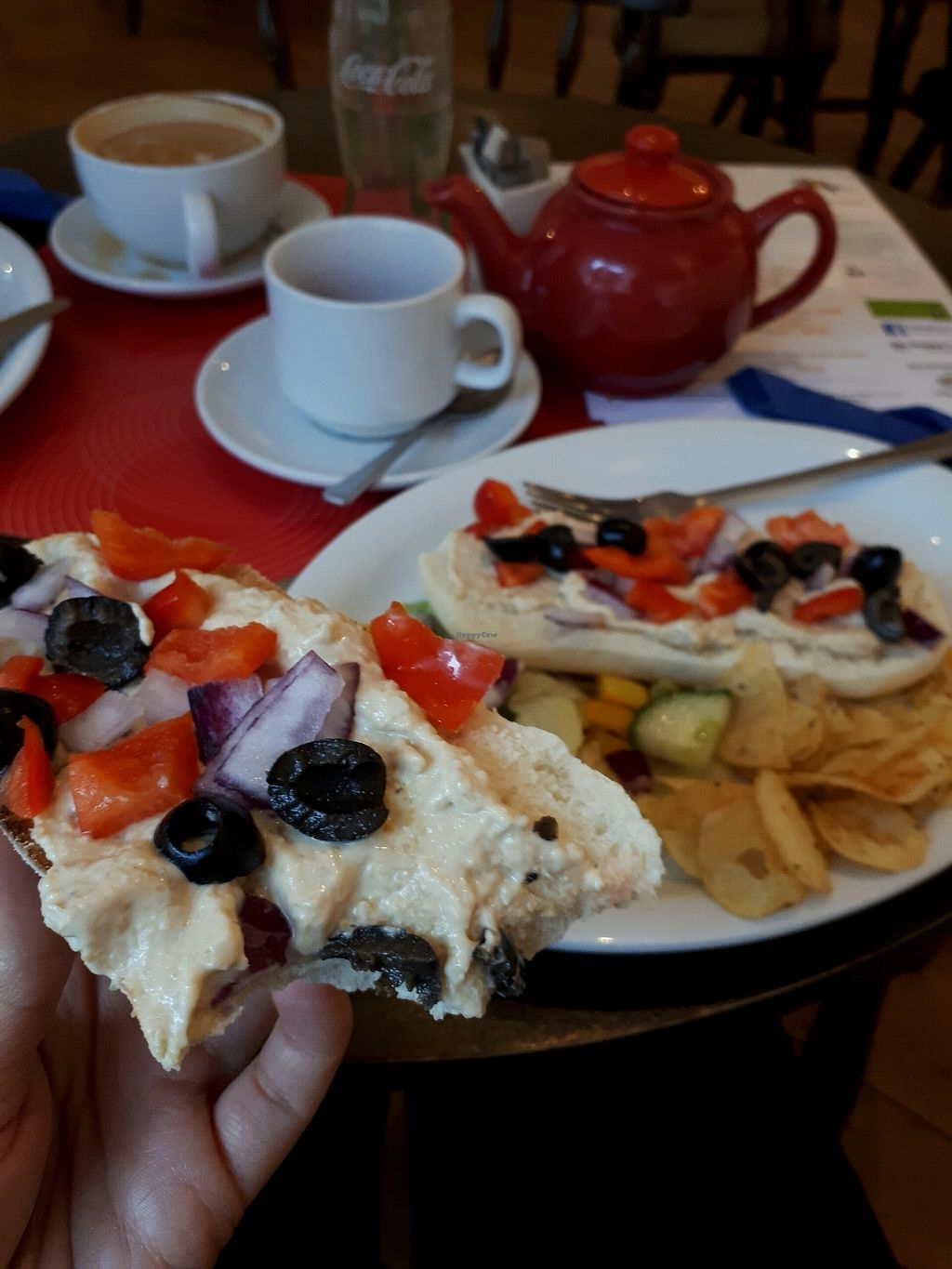"""Photo of The Art Cafe  by <a href=""""/members/profile/Tomma"""">Tomma</a> <br/>Houmous baguette <br/> October 30, 2017  - <a href='/contact/abuse/image/57604/320043'>Report</a>"""