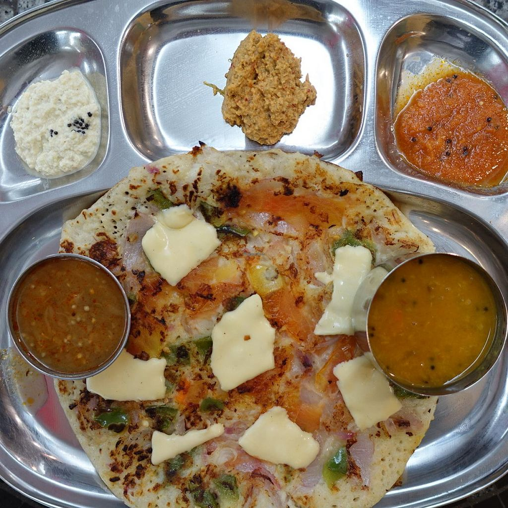 """Photo of Sangeetha Bhavan - temporarily closed  by <a href=""""/members/profile/JimmySeah"""">JimmySeah</a> <br/>pizza dosa <br/> April 20, 2015  - <a href='/contact/abuse/image/57627/99739'>Report</a>"""