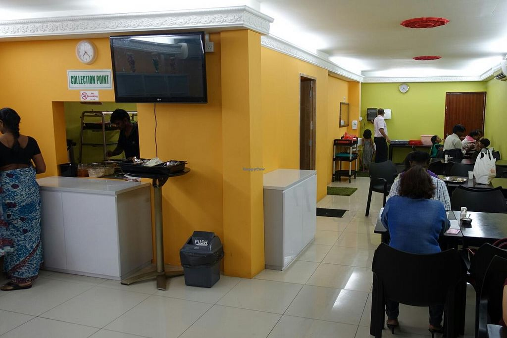 """Photo of Sangeetha Bhavan - temporarily closed  by <a href=""""/members/profile/JimmySeah"""">JimmySeah</a> <br/>food collection point and restaurant layout <br/> April 20, 2015  - <a href='/contact/abuse/image/57627/99743'>Report</a>"""