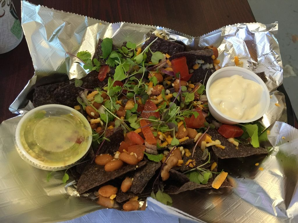 """Photo of CLOSED: Planet Yum  by <a href=""""/members/profile/GenevaJohnson"""">GenevaJohnson</a> <br/>vegan nachos! <br/> March 26, 2016  - <a href='/contact/abuse/image/57629/141374'>Report</a>"""