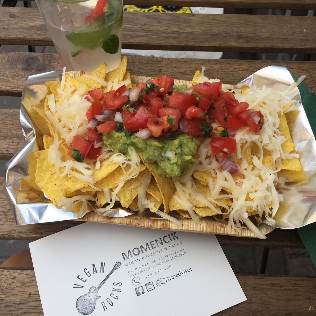 """Photo of Momencik  by <a href=""""/members/profile/KasiaFraser"""">KasiaFraser</a> <br/>Vegan nachos and homemade lemonade  <br/> September 12, 2016  - <a href='/contact/abuse/image/57643/175263'>Report</a>"""