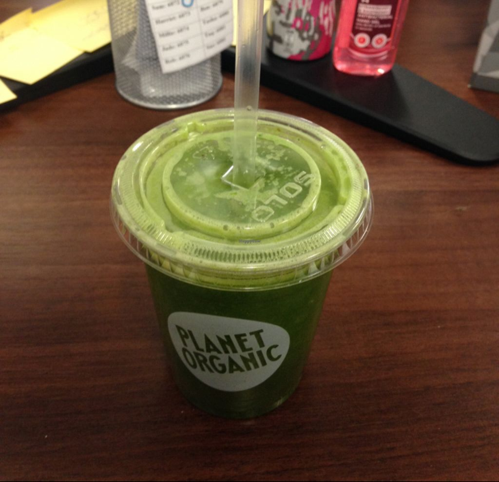 "Photo of Planet Organic - Devonshire Square  by <a href=""/members/profile/Cjlelliott"">Cjlelliott</a> <br/>green breakfast juice <br/> July 3, 2016  - <a href='/contact/abuse/image/57654/157625'>Report</a>"