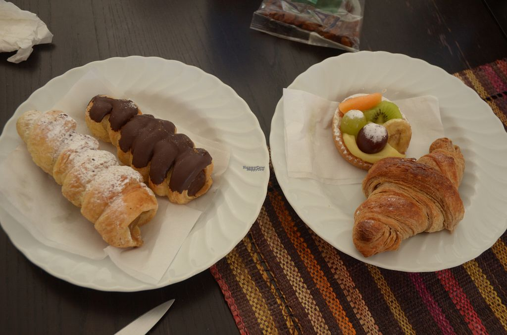 """Photo of Fratelli Piermattei  by <a href=""""/members/profile/Ciad"""">Ciad</a> <br/>Four pastries <br/> September 28, 2016  - <a href='/contact/abuse/image/57673/178246'>Report</a>"""