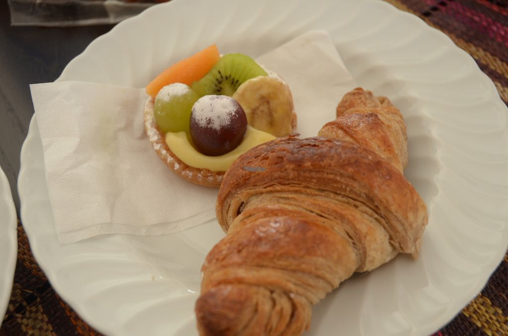 """Photo of Fratelli Piermattei  by <a href=""""/members/profile/Ciad"""">Ciad</a> <br/>Fruit-covered pastry and croissant <br/> September 28, 2016  - <a href='/contact/abuse/image/57673/178248'>Report</a>"""