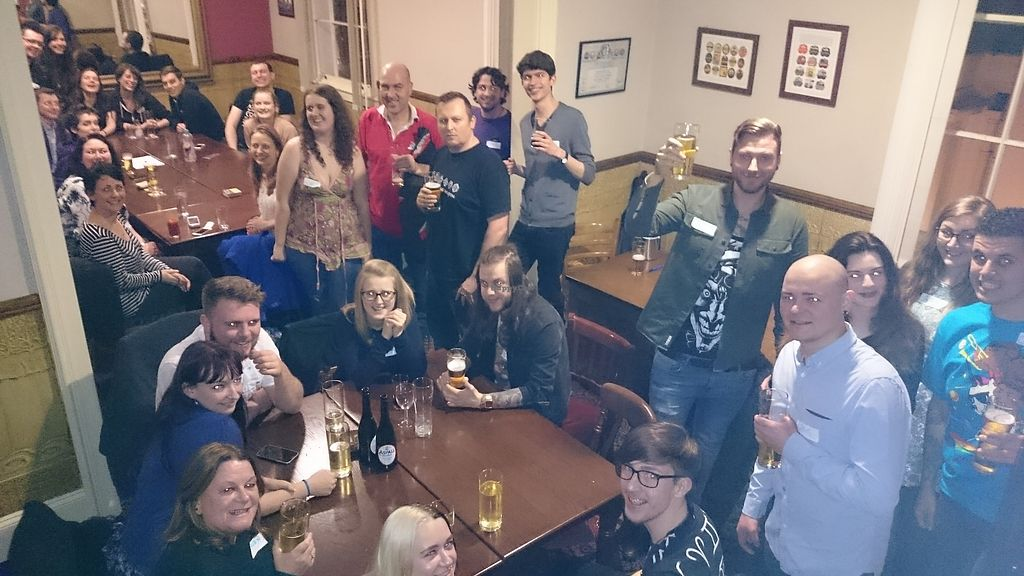 """Photo of Birmingham Vegans  by <a href=""""/members/profile/thomquinoa"""">thomquinoa</a> <br/>Pizza Night in 2016 <br/> February 11, 2018  - <a href='/contact/abuse/image/57678/357857'>Report</a>"""
