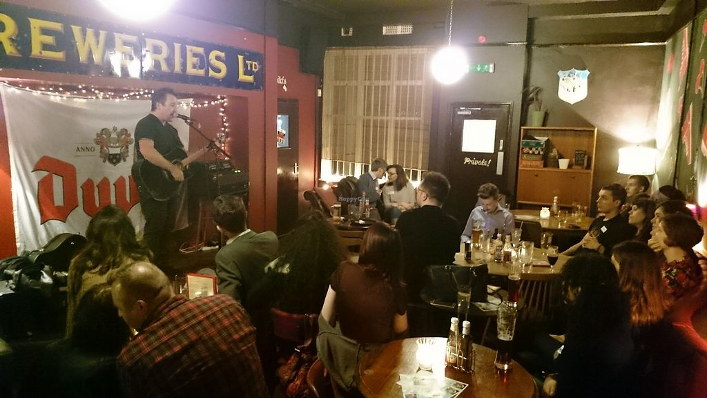 """Photo of Birmingham Vegans  by <a href=""""/members/profile/thomquinoa"""">thomquinoa</a> <br/>Drinks night in 2016 <br/> February 11, 2018  - <a href='/contact/abuse/image/57678/357859'>Report</a>"""