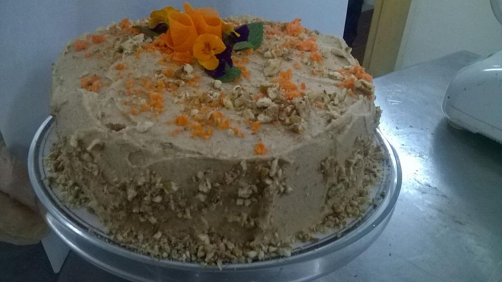 "Photo of The Graff Academy of Raw Food Education  by <a href=""/members/profile/Jackierawe1"">Jackierawe1</a> <br/>Raw carrot cake <br/> April 24, 2015  - <a href='/contact/abuse/image/57701/100102'>Report</a>"
